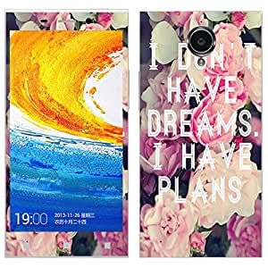 Theskinmantra I Don't have dreams Gionee Elife E7 mobile skin