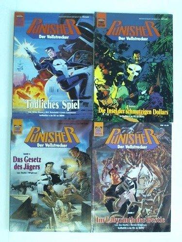 Der Vollstrecker. Bastei Comic Edition. 4 Hefte