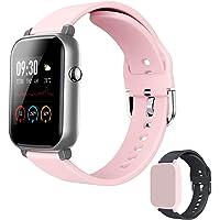 EdorReco Smart Watch, 1,3-Zoll-Touchscreen, mit Herzfrequenzmesser, wasserdichte IP68-Fitness-Tracker-Uhr Schrittzähler…