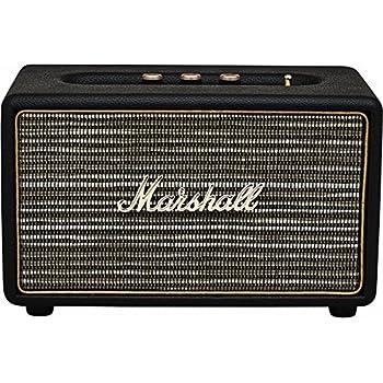 Marshall Acton - speaker/diffusore acustico attivo per Mp3/Smartphone, Nero