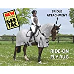 GEE TAC NEW *FLY RIDING RUG,TURNOUT COMBO* FLY MASK, FLY SHEET,HORSE COMBO, (PLEASE EMAIL US YOUR SIZE THOUGH AMAZON) ** 5