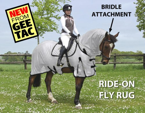 GEE TAC NEW *FLY RIDING RUG,TURNOUT COMBO* FLY MASK, FLY SHEET,HORSE COMBO, (PLEASE EMAIL US YOUR SIZE THOUGH AMAZON) ** 2