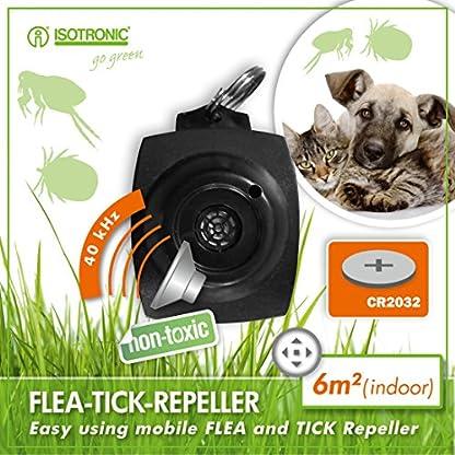 ISOTRONIC Tick Free No Chemical Ultrasonic Tick & Flea Repellant repeller 1
