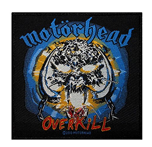 Metal Music Motorhead: Overkill Album Art Hard Rock Band Sew On Applique Patch by Cool-Patches -