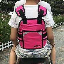 Guoyajf Correa De Arnés De Seguridad Ajustable De La Motocicleta Correa De Arnés De Seguridad Del Vehículo Eléctrico Para La Seguridad De Los Niños,Pink