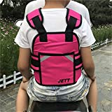 Guoyajf Einstellbare Motorrad Sicherheitsgurt Elektrofahrzeug Sicherheitsgurt Strap Für Kinder Sicherheit,Pink