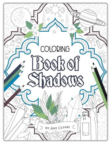 Coloring Book of Shadows por Amy Cesari