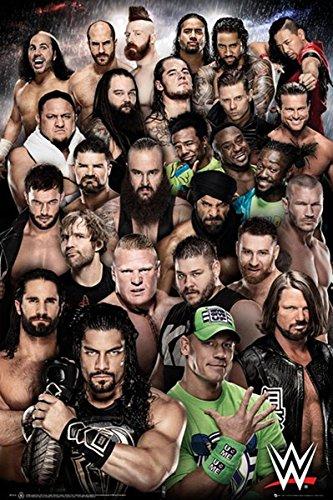 Close Up WWE Poster Superstars 2018 (61cm x 91,5cm) (Poster Wwe)