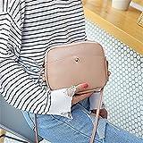 Wicemoon Womens Cross Body Bag PU Leather Tassel Handbags Shoulder Across Body Bag Wallet Cosmetic Bag Storage Bag For Women Lady