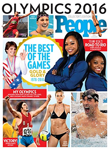 PEOPLE Olympics 2016: The Best of the Games: Gold and Glory (English Edition) por The Editors of PEOPLE