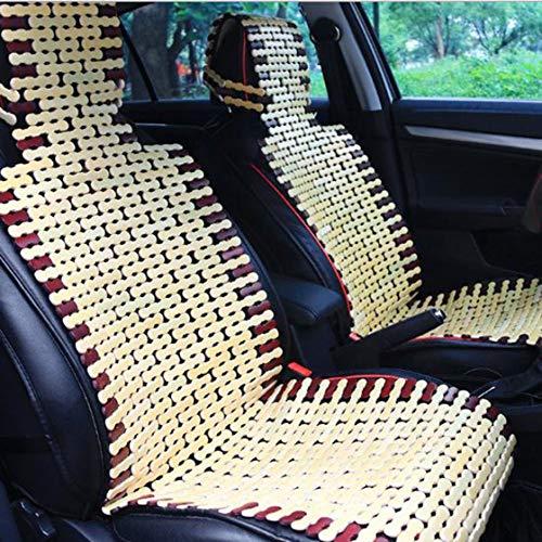 Cuscino per seggiolino auto in bambù naturale cuscino fresco estivo imbottitura comoda per coprisedile tappetino universale per auto rona la vita