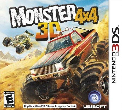 Monster 4x4 - Nintendo 3DS (Sport 3ds-spiele)