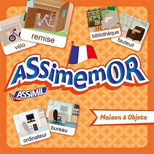 Assimemor Maison et Objets (coffret jeu de 64 cartes)