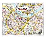 """Mikrofasertuch """"Dresden"""", das Brillentuch mit Stadtplan"""