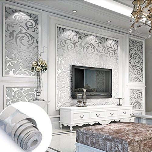 aruher-10m-3d-no-tejido-papel-pintado-lujoso-plata