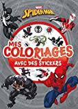 SPIDERMAN - Mes coloriages avec stickers...