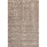 """Sona-Lux Alfombra Shaggy tejidas a mano baratos plata """"Seleccionar el tamaño"""" 160 x 230 cm"""
