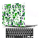 DIGIC MacBook Air 11 inch Cover Case, Plastic Hard Apple Laptoptasche with Keyboard Cover for MacBook Air 11.6 inch Model A1465/A1370,Polygonal Geometry