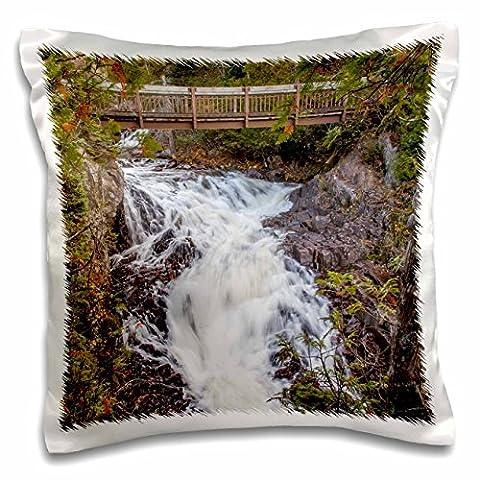 Danita Delimont - Waterfalls - Canada, Ontario, Rainbow Falls Provincial Park, Rainbow Falls - 16x16 inch Pillow Case (pc_205521_1)