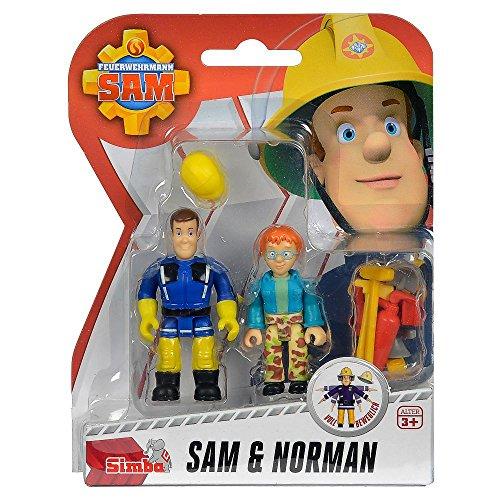 feuerwehrmann sam figuren set Feuerwehrmann Sam - Spiel Figuren Set - Sam & Norman FS91056