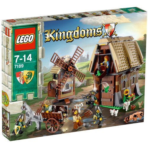 LEGO-Kingdoms-7189-Mill-Village-Raid
