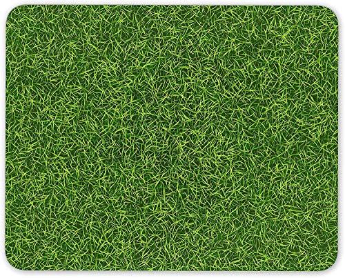 N/A Green Grass Mouse Mat Pad - Football Cricket Golf Rugby Gardener Fun Gift #14823
