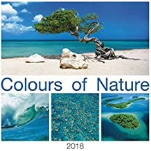 Colours of Nature 2018 - Bildkalender (42 x 42) - Naturkalender - Landschaftskalender