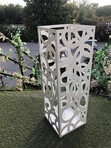 Casablanca - Schale Twin Aluminium poliert Bronze gewischt mit Oberflächenstruktur
