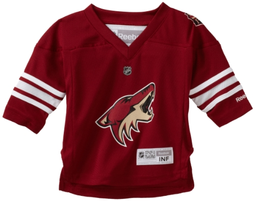 f11d97214 Outerstuff NHL Infant Phoenix Coyotes Team Color Replica Jersey - R52Hwbxx  (Maroon