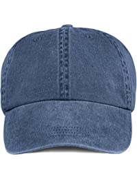 Solid Low-Profile Pigment-Dyed Cap NAVY OS