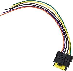 28 Cm 6 Pin Hinten Schwanz Led Licht Platine Kabel Linie Pigtail Harness Stecker Ersatz Stecker Für Renault Clio Mk3 Baumarkt