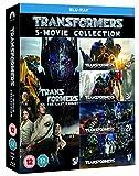 Transformers: 5 Movie Collection 4K UltraHD + Blu Ray Box Set / Import / Region Free Blu Ray
