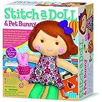 4M - Stitch A Doll & Pet Bunny Costura (00-02765)
