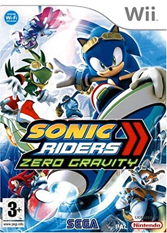 Sonic riders : zéro gravity [FR Import]