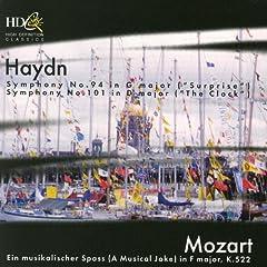 Haydn: Symphonies Nos. 94, 101; Mozart: Ein musikalischer Spass