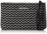 Dorothy Perkins Zip Wristlet - Borsette da polso Donna, Black, 23x13x5 cm (W x H L)