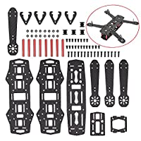 Mopei 250 Full Carbon Fiber Quadcopter Frame Kit for QAV250 Quadcopter FPV Mini Racing Drone from MoPei