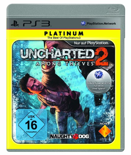Uncharted 2: Among Thieves [Platinum] (Zwei Spieler Spiele Ps3)