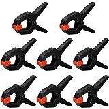 Nirox 8X Set van veerclips - klemmen met grote overspanningsbreedte - hoge klemkracht van de veerklem - klemmen met beweegbar