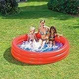 Unbekannt Aufblasbares Planschbecken Uni Pool, 180 x 40 cm, 3 Luftringe, aus PVC