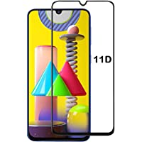 BEHAV Tempered Glass for Samsung Galaxy M21 / M31 Screen Protector Full HD Quality Edge to Edge Coverage for Samsung Galaxy M21/ M31 (BLACK)