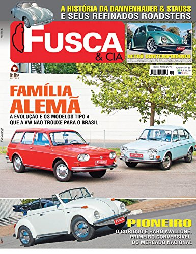 Fusca & Cia ed.86 (Portuguese Edition) por On Line Editora