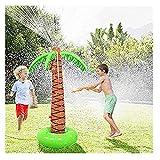 TianranRT Jardín de Juegos de Agua,Juego de Rociadores de Agua Con Rociador de Agua,Juego de Rociador de Agua Para Niños. Verano Fresco,Multicolor.