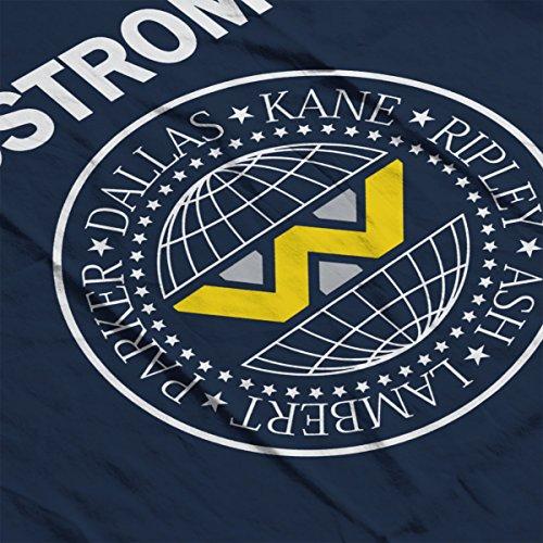 Nostromo Ramones Logo Aliens Men's Vest Navy Blue