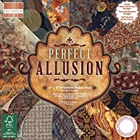 Premium Craft Cardstock First Edition 6x6 Designer Paper Pad - Perfect Allusion