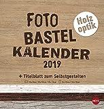 Bastelkalender Natur Holzoptik - Kalender 2019