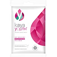 Kaya Youth Oxygen Boost Brightening Face Mask, 15 min Instant Home Facial Mask, Reduce Dullness, Brighten Skin Tone…