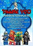 Best LEGO Buddies - Fiesta de cumpleaños tarjetas de agradecimiento, Lego Ninjago Review