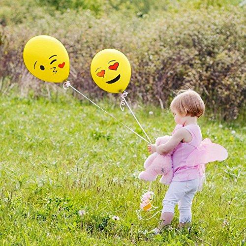 Cookey-Balloons-100-Pz-Assortiti-Colori-Partito-per-la-Cerimonia-Nuziale-Della-Festa-di-Compleanno-12-inch-Palloncini-in-Lattice-