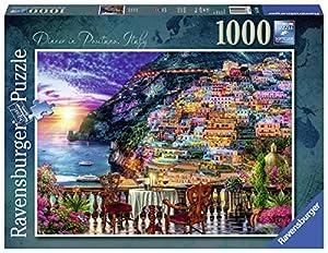 Ravensburger - Puzzle (1000 Piezas), diseño de cenas en Positano